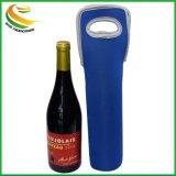 De douane Afgedrukte Houder van de Zak van de Wijn van het Neopreen