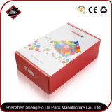Rectángulo de empaquetado de papel modificado para requisitos particulares impresión al por mayor del almacenaje