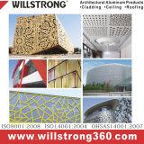 Panneau solide en aluminium pour le présentoir matériel de décoration