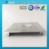 El aluminio de aluminio sacó perfil para el marco de la puerta principal del departamento del final del molino