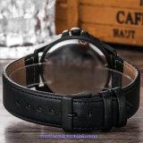 Изготовленный на заказ wristwatches способа вахты кварца человека логоса для людей (WY-17015D)