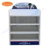 4 Reihe-hohe Kapazitäts-Metallnahrung- für Haustierebildschirmanzeige-Fußboden-stehender Speicher-Bildschirmanzeige-Zahnstangen-Standplatz