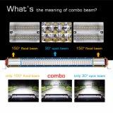 La CE aprobó RoHS Auto LED resistente al agua del sistema eléctrico de conducción de camiones Jeep 744W de la barra de luz LED