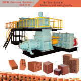 Macchina per fabbricare i mattoni infornata dell'argilla di grande capienza per il fango del terreno