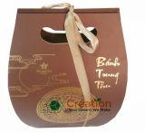 Usine de papier de sacs à provisions/sac estampé de cadeau