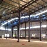 Magazzino chiaro della struttura d'acciaio, workshop, Construting d'acciaio