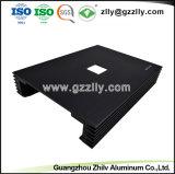 Espulsione di alluminio per l'allegato dell'amplificatore dell'automobile con l'anodizzazione e lavorare