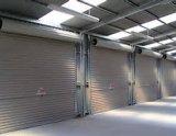 Porte supplémentaire automatique motorisée industrielle d'obturateur de rouleau d'alliage d'aluminium en métal (Hz-FC070)