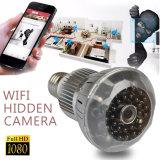 Полным обнаружение движения камеры HD 1080P СИД спрятанное шариком WiFi, камера слежения обеспеченностью цифров видео-