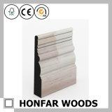 Moulage de bordage en bois de placage pour la décoration de plancher