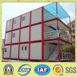 Edifício de casa provisório do recipiente para o trabalhador