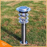 Van de LEIDENE van het roestvrij staal Licht van het Gazon van de Tuin Lamp van het Landschap het Openlucht Zonne