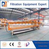 Díaz de la cámara de filtro prensa hidráulica Máquina automática con sistema de lavado de tela