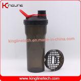 bottiglia dell'agitatore della proteina 700ml con il setaccio di plastica (KL-7014)