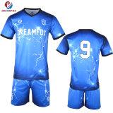 Pullover tailandese personalizzato di calcio degli abiti sportivi della camicia di gioco del calcio della Jersey di qualità