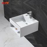 Piccolo bacino di mano di superficie solido della lavata del lavabo di Kingkonree (180119)
