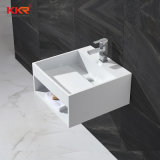 Kingkonreeの小さい洗面器の固体表面の洗浄手洗面器(180119)