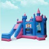 Princesa inflable congelada inflable Bouncy Castle de la gorila del carro de la gorila