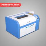 Machine de découpage de gravure de laser de CO2 de couteau de commande numérique par ordinateur mini Destktop