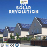Modulo solare monocristallino sostenibile 210W di PV per i progetti solari del tetto