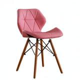EMS style fauteuil recouvert de plastique moulé gris noir jeu de jambes