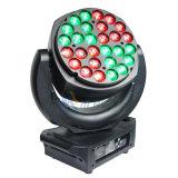 Träger-beweglicher Kopf des LED-Stadiums-/Party-Licht-Summen-19*12W