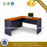 L en bois bureau d'ordinateur portatif de forme avec le Module (UL-MF462)