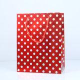 Bolsas de papel impresas aduana para las compras de alimento