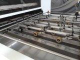 Máquina que corta con tintas y que arruga de la tarjeta automática completa del cartón de la eficacia alta