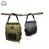PVC ao ar livre que acampa caminhando 20L/5 galões de saco aquecido do chuveiro do acampamento da energia solar