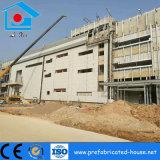 Estructura de acero Venta caliente Tansverse con la construcción de paneles sándwich PU