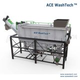 Sistema de sequía que se lava de pulido de la tecnología de la botella verde del HDPE