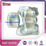 Bester verkaufender niedriger Preis-saugfähiger Wegwerftyp Baby plus Baby-Windel für Afrika-Markt