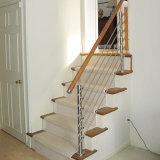 En el interior de Acero Inoxidable Varilla sólida baranda de la barra de la escalera balaustrada