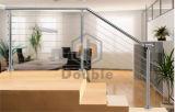 Railing/балюстрада кабеля нержавеющей стали для балкона и лестниц