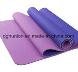 Stuoia antiscorrimento di yoga di doppio colore del TPE