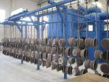 12.5kg LPGのガスポンプの製造業ラインショットブラスト機械