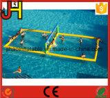 Agua inflables cancha de voleibol para la venta