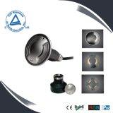 lámpara subterráneo de 2W IP67 LED, iluminación del punto del LED, proyector del suelo