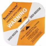 L'étiquette d'avertissement fragile de qualité pour le choc indiquent
