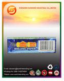 papel de cigarrillo ardiente lento ultra fino gigante 14GSM