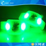 주문 다채로운 실리콘 LED 연주회 풀그릴 소맷동