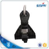 Abrazadera de la suspensión de plástico con preinstalación de soporte de aluminio para accesorios de la línea de polos