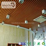 Teto de madeira interno projetado do PVC do composto de WPC