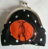 Sacchetto del raccoglitore della borsa della moneta di bellezza delle donne per il tasto di scheda