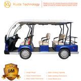 Batteriebetriebenes weiter reichendes 9 Seater 48V touristisches besichtigenauto China-
