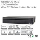 Video de la red ultra 4K H. 265 de Dahua 32 del canal (NVR608-32-4KS2)