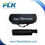 Microscopio óptico Handheld portable del examen de fibra de 400X Aluminun