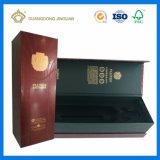 Выполненная на заказ коробка подарка с подносом ЕВА для вина