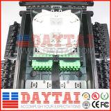 96 núcleos de cierre de empalme de fibra óptica 4 en la caja de distribución de 16